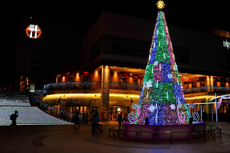 クリスマスツリーバナー