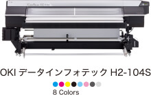 OKI データインフォテック H2-104S 8 Colors
