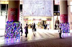 季節装飾には欠かせないクリスマス